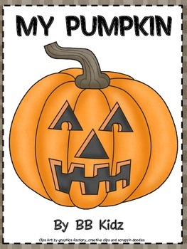 My Pumpkin!  A booklet about size, color, weight & measure