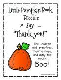 My Pumpkin Book