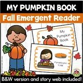 Fall Emergent Reader My Pumpkin Book
