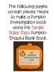 My Pumpkin Investigation Book