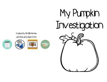 My Pumpkin Investigation - Booklet