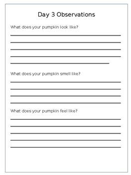 My Pumpkin Journal