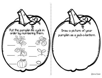 My Pumpkin Journal-October activity