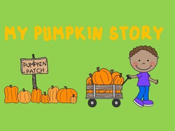 My Pumpkin Story- Writing Template