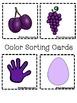 Color Books; Purple;3 Worksheets; Cut/Paste Activity; Colo