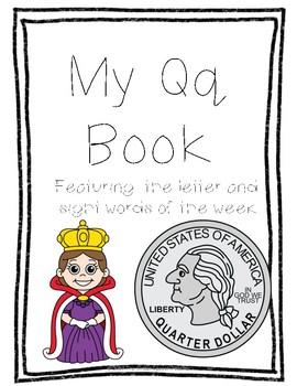 Letter Qq Book