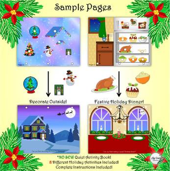 My Quiet Christmas Book by Lilyvale Learning