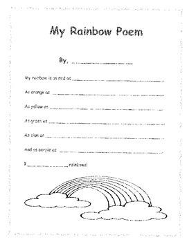 My Rainbow Poem