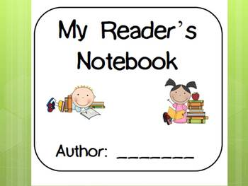 My Reader's Notebook Printable Pack