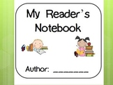 My Reader's Notebook Printable Pack