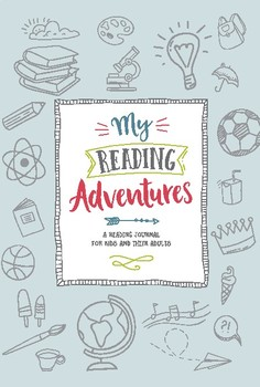 My Reading Adventures - a reading journal for kids