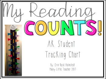 My Reading Counts-Student AR Tracking Chart