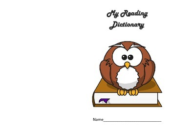 My Reading Dictionary: Vocabulary in Context
