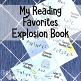 My Reading Favorites Explosion/Stretch Book
