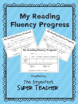 My Reading Fluency Progress
