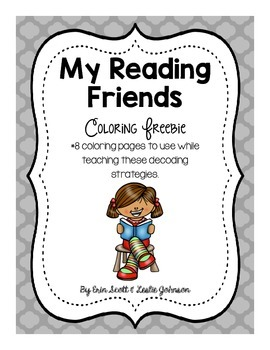 My Reading Friends Coloring Page *Freebie*