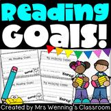Primary Reading Goals Templates!