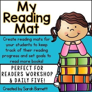 My Reading Mat for Reader's Workshop!