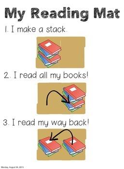 My Reading Mat Folder Cover