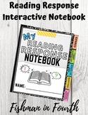 Reading Response Interactive Notebook