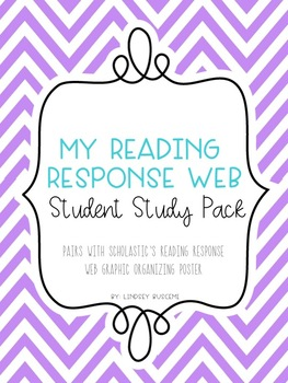 My Reading Response Web - Student Student Pack