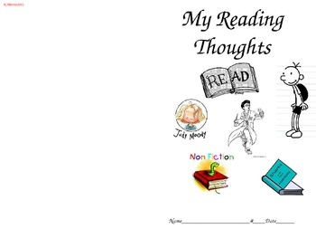 My Reading Thoughts Booklet