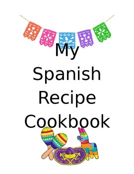 My Recipe Book Cover