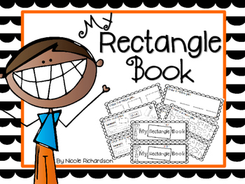 My Rectangle Book-EASY PREP!
