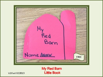 "ESL Activity and Resource: Farm Book ""My Red Barn"""
