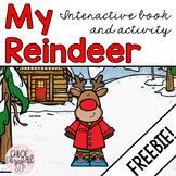My Reindeer Interactive Book FREEBIE!