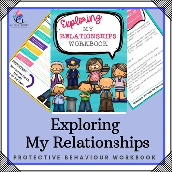 My Relationship Workbook - 10 Page Workbook (Protective Behaviours)