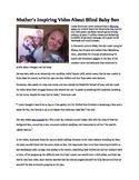 My Reluctant Teen Readers_Baby's deformities inspire others