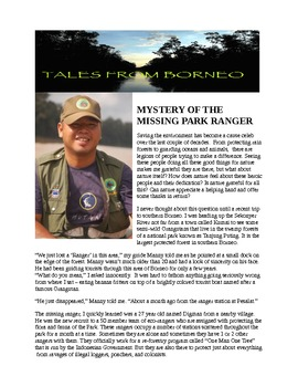 My Reluctant Teen Readers_Series_ Mystery of the Missing Park Ranger