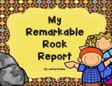 My Remarkable Rock Report