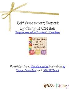 My Report Card (self assessment)