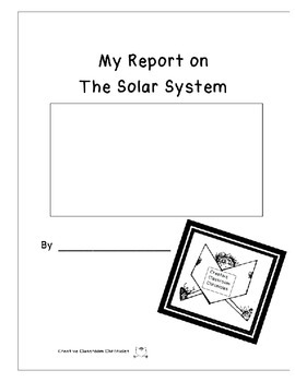 My Report on The Solar System