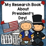 My Research Book About President's Day