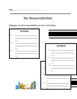 My Responsibilities