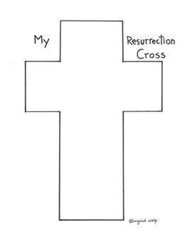 My Resurrection Cross - Easter Season Activity