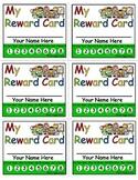 """My Reward Card"" Behavior Incentive Punch Cards"