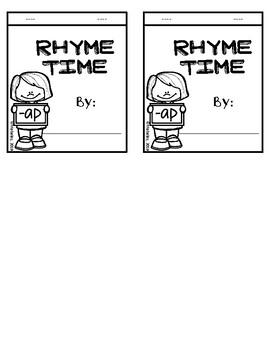 My Rhyme Time Flip Book: -AP