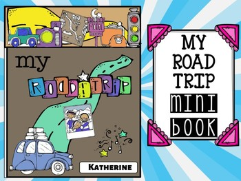 My Road Trip Mini Book : Learn and Visit Places