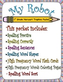 My Robot:  First Grade Spelling and Sight Words Packet