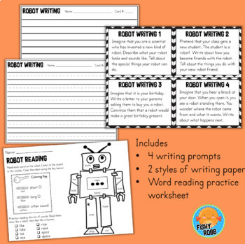 My Robot Writing and Craftivity
