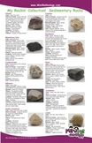 My Rockin Collection Junior Rock & Mineral ID Flyers - Set of 4