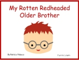 My Rotten Redheaded Older Brother ~ 44 pages Common Core Activities