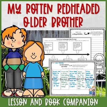 My Rotten Redheaded Older Brother Interactive Read Aloud P