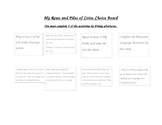 """""""My Rows and Piles of Coins"""" Choice Board (goes with my lesson plan template)"""