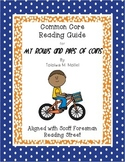 My Rows and Piles of Coins- Common Core Reading Guide and Activities