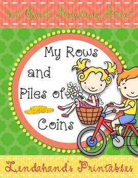 Reading Street My Rows and Piles of Coins Teacher Pack by Ms. Lendahand